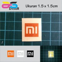 READY Sticker / Stiker Xiaomi MI Logo 1.5x1.5cm