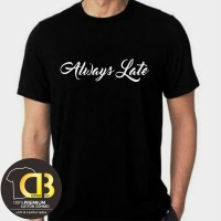 T-Shirt Kaos Premium Baju Distro Pria Wanita Size M L XL XXL 06