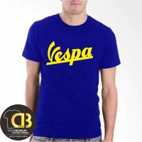 T-Shirt Kaos Premium Baju Distro Pria Wanita Vespa Size M L XL XXL 010