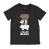 Kaos Anak We Bare Bears - GEMES Kids - 2-3 tahun, Abu-abu