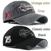 Always 75 Topi Baseball Hat Cap Casual Sport Pria Wanita Distro - Vintage Black