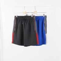 Celana Pendek Pria- AERO Side Stripe Stretch Athletic Shorts