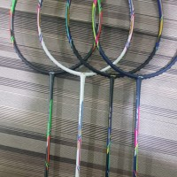 Raket Badminton Lining Jojo 7000 original free kaos cover senar