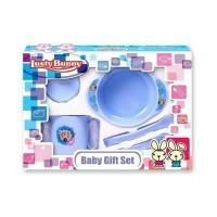 Lusty Bunny Feeding Set Kecil / Perlengkapan Alat Makan Minum Bayi