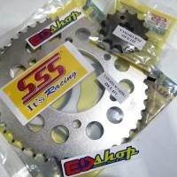 gear SSS 428 ( Depan 14 - 15 + blkg 40 ~ 45 ) VIXION BYSON MX KING