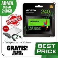 SSD 240GB ADATA SU650 PAKET ORICO Case External