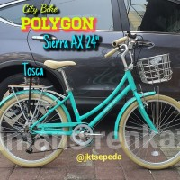 Sepeda CityBike Polygon Sierra AX 24