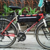Tas Frame Sepeda Touring Roadbike Cummuter Vintage Federal