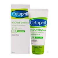 Cetaphil UVA UVB Defense SPF 50+ UVA 28 50 mL Cetapil Sunscreen 50ml