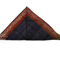 Kain Udeng Segitiga / Kain Ikat Kepala Motif Batik Khas Jawa Bali