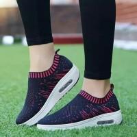 Sepatu Wanita Kets Casual SP38 Navy Fanta