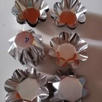Cetakan kue pai pie sus (D) bentuk bunga 6,5 cm isi 20 pcs