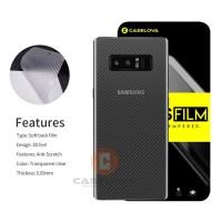 Samsung Galaxy S10E Garskin Back Skin Carbon Anti gores Belakang