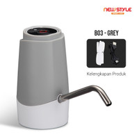 Newstyle B03 Pompa Galon Air Minum Elektrik Otomatis - Rechargeable