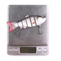 Simple Dengan Treble Kail Umpan Buatan Bentuk Ikan