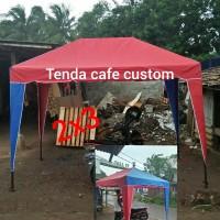 tenda cafe 2x3 tenda bongkar pasang tenda outdoor