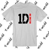 Kaos Tulisan One Direction