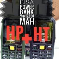 HP bisa HT Prince PC10 PC-10 Powerbank 12.000 BRANDCODE B68 ALDO 00