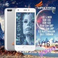 Maxtron V16 Galaxy 3G RAM 1GB Internal 4GB - Garansi Resmi electron