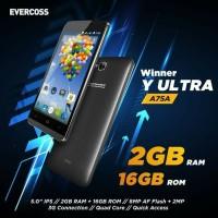 Evercoss A75A 5inci Ram 2Gb internal 16Gb aksesoris part
