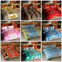Bedcover Set 120x200 Single / Bed cover Sprei 120 / Kado Hadiah Anak