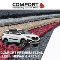 Karpet Mobil Comfort Premium Rush 2018 3 Baris+Bagasi