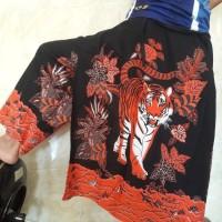 celana sarung harimau merah