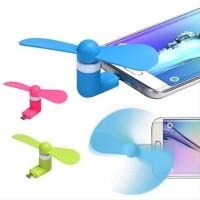 Kipas Angin Portable Mini Fan Android Smartphone OTG Micro VIYATTA