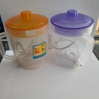 teko listrik plastik - pemanas air plastik