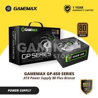 PSU GameMax 650Watt PSU GP 650 80 Plus Bronze