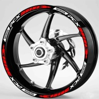 Sticker Velg Motor Wheel striping New Honda PCX uk velg 14 inc