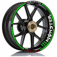 Stiker Velg Motor Wheels Sticker Monster Energy All Motorsport Ring 17
