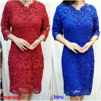DRESS BRUKAT DRESS BROKAT IMPORT DRESS BIGSIZE