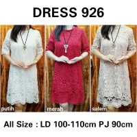 DRESS BRUKAT DRESS BROKAT IMPORT DRESS IMPORT