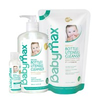 Babymax Premium Baby Safe Bottle & Utensils Cleanser Set