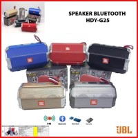 speaker bluetooth jbl HDY-G25 wireless portable bluetooh