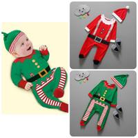set baju romper kostum santa natal christmas lucu impor anak bayi unik