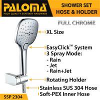 PALOMA SSP 2304 Shower Set Handshower Mandi Hand Head Kepala Air Paket