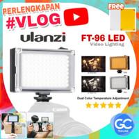 LED Lighting Ulanzi FT-96 Video Light 96 Lampu Studio Vlog Youtube