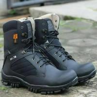 sepatu boots Sepatu DELTA TACTICAL SAFETY UJUNG BESI FAVORIT Pdl Tni S