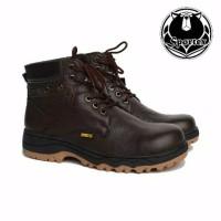 sepatu tactical sepatu safety KULIT ASLI ujung besi safety shoes type
