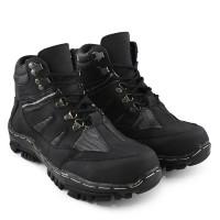 sepatu docmart Sepatu Safety ujung Besi Pria Sepatu Proyek