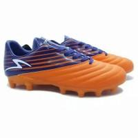 Sepatu Bola Specs Barricada Genoa 19 FG (Spirit Orange/Galaxy Blue)