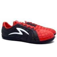 Sepatu Futsal Specs Barricada Kaze IN - Emperor Red/Black