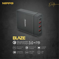 Hippo Elite Blaze Adapter Charger 75 W (Value Pack Inc. 3 pcs Cable)