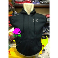 Jaket Rompi Hoodie Vest Zipper Sweater Under armour terbaru