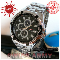 Jam Tangan Pria Swiss Army Analog / Jam Tangan Murah / Jam Anti Air