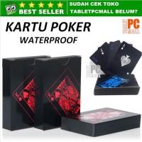 Kartu Poker Anti Air Kartu Remi Waterproof Plastic Playing Cards Set