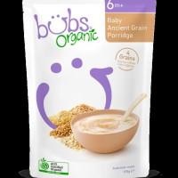 Bubur Bayi Bubs Organic Ancient Grain Porridge 6+ Months Australia