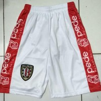 PALINGLARIS celana bola Bali united putih PALINGLARIS